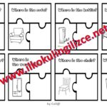 Unit-6 Where is…? Puzzle worksheet