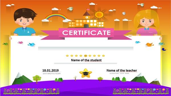 Certificate 2 -Editable