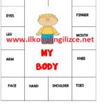 2.Sınıf My Body-Kes,Yapıştır Oyunu