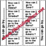 How can I go to…? Worksheet