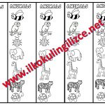 Animals-Bookmarks-Coloring