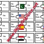 Children's Day Puzzle Worksheet