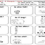 3.Sınıf Sıfatlar Soru Cevap Etkinliği