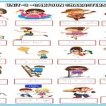 Cartoon Characters Tracing Worksheet (colored)