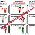 Nationality Worksheet