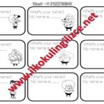 What's your name? Tracing Worksheet