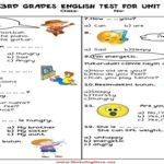 3.Sınıf 4.Ünite Değerlendirme Testi