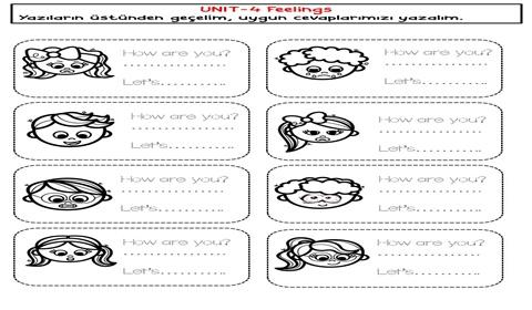 Feelings  Worksheets Pack