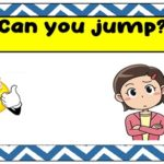 Can you…? Flashcards-Matching Game