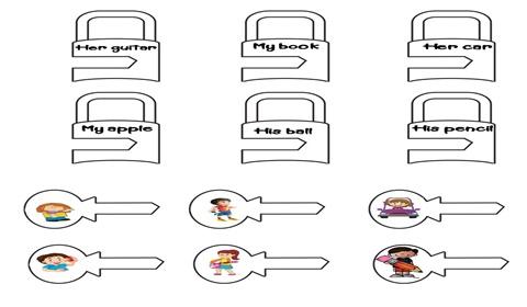 Key Matching Game