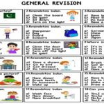 General Revision for 4th Grades