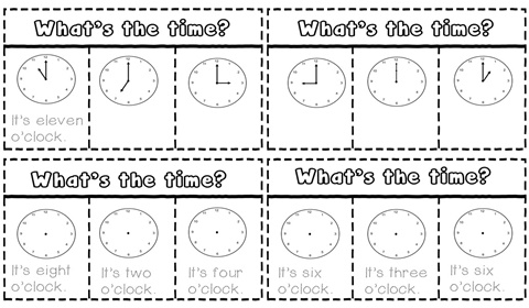 What's the time worksheet