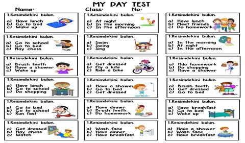 My Day Test