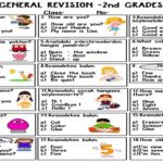 General Revision for 2nd Grades