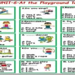 At the Playground -Test