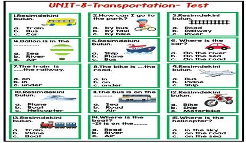 3.Sınıf 7-8.Üniteler Testi