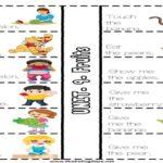 2.9 Fruits Tracing Worksheets