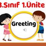 3.Sınıf 1.Ünite Greeting Sunum