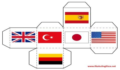 Ülkeler Zar Oyunu Şablon