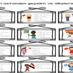Countries-Nationalities Worksheets