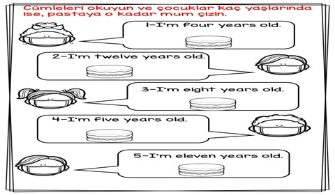 How old are you? Worksheets