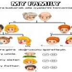 3.2 My Family Worksheets