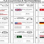 4.2 Countries Flap Book
